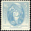 Záhada ztracené kolonie Roanoke, pod kterou se roku 1587 slehla zem - Virginia_Dare_5c_1937_issue