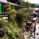 Nejstarší a nejmenší horký pramen v Japonsku – Tsuboju onsen - yunomine