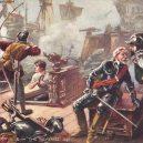 """Slavná """"Revenge"""" a její ještě slavnější poslední bitva u Azorů - 20110825125343"""
