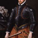 """Slavná """"Revenge"""" a její ještě slavnější poslední bitva u Azorů - 800px-Sir_Richard_Grenville_from_NPG"""