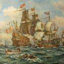 """Slavná """"Revenge"""" a její ještě slavnější poslední bitva u Azorů - DOR_BRC_BORGM_00931-001"""