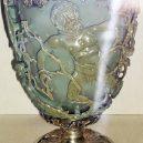 Římská láhev ze Špýru stále uchovává tekutý nápoj - Green_Lycurgus_Cup
