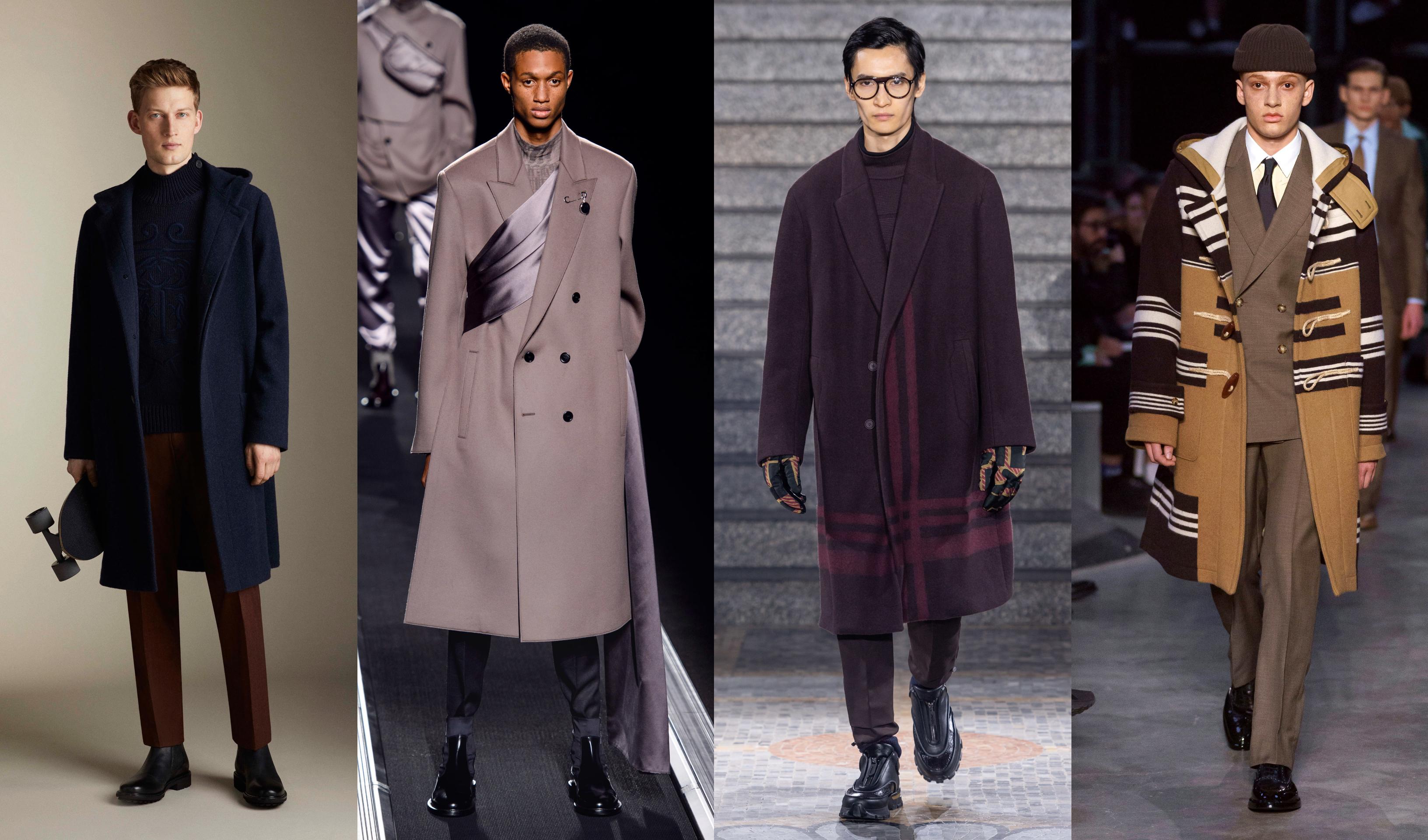 Corneliani, Christian Dior, Ermenegildo Zegna, Burberry