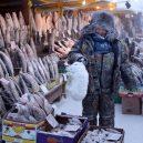 Nejchladnější vesnice světa – sibiřský Ojmjakon - coldest-city-fish-market
