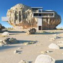 Co se stane, když spojíte pravěk a současnost? Podívejte se na návrh domu postaveného uvnitř skály - rock-house-concept-amey-kandalgaonkar-1