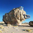 Co se stane, když spojíte pravěk a současnost? Podívejte se na návrh domu postaveného uvnitř skály - rock-house-concept-amey-kandalgaonkar-4