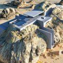 Co se stane, když spojíte pravěk a současnost? Podívejte se na návrh domu postaveného uvnitř skály - rock-house-concept-amey-kandalgaonkar-5