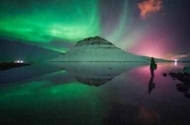 Severní polární záře.