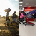 Válka vs. blahobyt. Prohlédněte si sérii fotografií zobrazující kontrast mezi východním a západním světem - ugur-gallenkus-contrasting-worlds-1