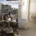 Válka vs. blahobyt. Prohlédněte si sérii fotografií zobrazující kontrast mezi východním a západním světem - ugur-gallenkus-contrasting-worlds-11