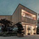 Salon dřevostaveb ukáže trendy a výběr toho nejlepšího - Atelier Haumer_kancelář lesní školky_Vídeň