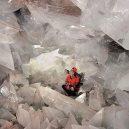 Obří geoda z Pulpí je přístupná veřejnosti - geode