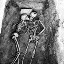 I po smrti nerozlučitelní milenci spočívali v objetí 2800 let - The 2800 years old kiss