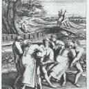 Štrasburský tanec smrti – masová taneční hysterie stála životy - 800px-Die_Wallfahrt_der_Fallsuechtigen_nach_Meulebeeck