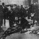 Zbytečná smrt téměř 150 dívek v plamenech továrny - bodiesonthestreet-trianglefactoryfire-1911-1548521292