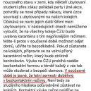Přečtěte si mail rektora Petra Skleničky - rektor1