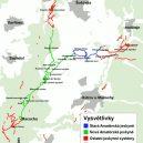 Prohlédněte si Amatérskou jeskyni, nejdelší podzemní přírodní systém ve střední Evropě - Schéma-jeskynního-systému-Amatérské-jeskyně-wikipedie