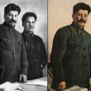 Najdi pár rozdílů – kdo zmizel ze sovětských propagandistických snímků? - stalin_photo_manipulation (2)