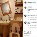 Umění v karanténě – Banksyho poslední dílo vzniklo v jeho koupelně - banksy12