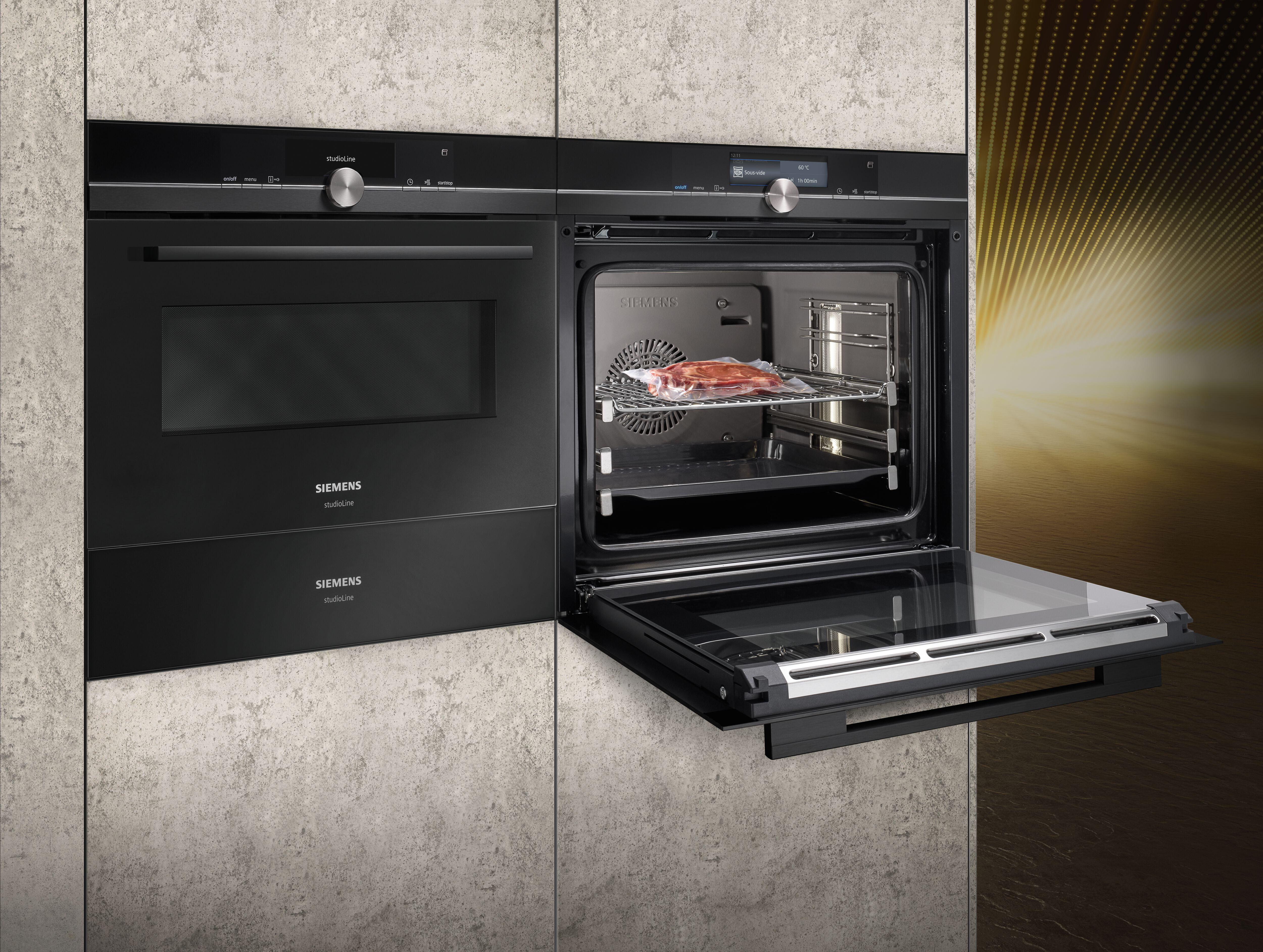Vestavěný senzor roastingSensor se postará o to, aby bylo jídlo skutečně křupavé, ale také uvnitř dokonale upečené.