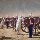 Poprava kanónem – krutou smrtí se popravovalo až do 20. století - Vereshchagin-Blowing_from_Guns_in_British_India