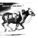 Při dostihu roku 1923 se stal vítězem mrtvý žokej - 08211937-2