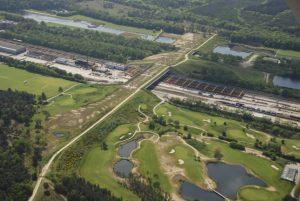 Ekodukt Natuurbrug Zanderij Crailoo v Nizozemsku je nejdelším ekologickým mostem svého druhu.