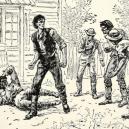 Prezident Lincoln byl ve svém mládí úspěšným zápasníkem - abraham-lincoln-fighting-jack-armstrong