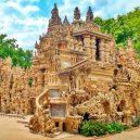 """Bizarní, ale úchvatný """"Le Palais idéal"""". Odhodlaný pošťák jej stavil sám po neuvěřitelných 33 let - palais-ideal-Ferdinand-Cheval"""