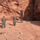 V utahské poušti nalezli kovový monolit – stanou se realitou události z filmu 2001: Vesmírná odysea? - _115622500_monolith4