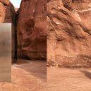 V utahské poušti nalezli kovový monolit – stanou se realitou události z filmu 2001: Vesmírná odysea? - 2011124_monolith