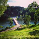 Středověká kostra mladého vojáka ležela 500 nepovšimnutě nedaleko jezerního mostu - dubingiu_bridge2