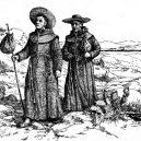 Samuel Fritz se v 17. století vydal na nebezpečnou misii do Amazonie - Franciscan_missionaries_in_California