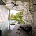 Galerie nejmodernějších do struktury domu zabudovaných bazénů - Kent_Soh