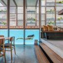 Galerie nejmodernějších do struktury domu zabudovaných bazénů - Murray_Fredericks