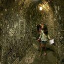 Původ a účel jeskyně plné mušlí zůstává mystériem - shell-grotto-serpentine-passage