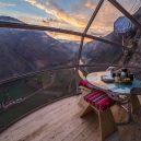 Natura Vive Skylodge Adventure Suites – noc 122 metrů nad zemí - Skyloge-breakfast