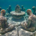Kuriózní podmořské muzeum obývá stovky soch v životní velikosti - 4q7bnonopbc41