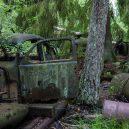 Pohřebiště veteránu v kouzelném švédském rašeliništi - bilkyrkogarden-kyrkoemosse