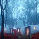 Dolmen Shelter – hotel uvnitř lesních kamenných budov - davit-mary-jilavyan-dolmen-shelter-designboom-02