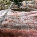 "Dechberoucí objev – ""pravěká sixtinská kaple"" Amazonie - sistine-chapel-of-the-ancients-ice-age-paintings-colombia-designboom-006"