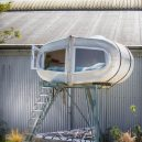 Rotterdamský Culture Campsite nabízí oázu uprostřed města - Sleeping-Pod-at-Culture-Campsite-in-Rotterdam-5