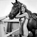 """Bizarní cirkusové představení """"diving horse"""" - sonoraswimsuit1"""