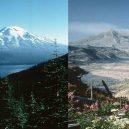 Robert Landsburger místo zbytečného útěku fotografoval erupci sopečného giganta - StHelensBeforeAfter_USGS750-750×412