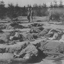Ohrdruf – první z Američany osvobozených nacistických táborů - Ohrdruf_Liberation_Corpses_Prisoners_American_Soldiers