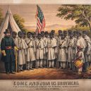 Fotografie, která surovostí vypověděla o otroctví víc než mnohá svědectví - Come_and_Join_Us_Brothers,_by_the_Supervisory_Committee_For_Recruiting_Colored_Regiments