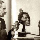 Bizarní sbírka desítek lidských hlav Horatia Robleyho - Horatio_Gordon_Robley _collection_tattooed_Maori_heads_2