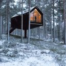 Niliaitta – moderní verze tradiční laponské stavby - the-cabin-is-an-ideal-retreat-where-nature-lovers-can-enjoy-the-sights-and-sounds-of-great-outdoors-all-year-round