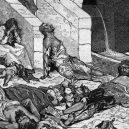 Roku 536 se nad Eurasií rozprostřel mrak, jež zastínil slunce na více jak rok - Plague-of-Justinian-leaving-death-in-its-wake.