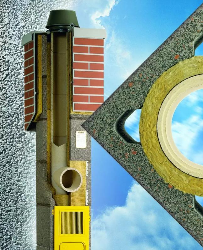Komín s kvalitní keramickou vložkouje nejlepší volbou pro připojení ke krbům, kamnům či kotlům na tuhá paliva a biomasu, tedy i dřevo